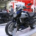 東京モーターサイクルショー 2013 Ducati Diavel Stripe