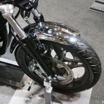 東京モーターサイクルショー 2013 ホンダ CB1100 フロントホイールフェンダー