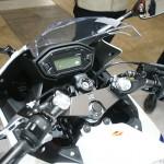 東京モーターサイクルショー 2013 ホンダ CBR400R ハンドル・メーターパネル