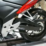 東京モーターサイクルショー 2013 ホンダ CBR400R リアホイール