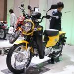 honda_crosscub_01 東京モーターサイクルショー 2013 ホンダ クロスカブ CC110 イエロー