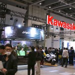 東京モーターサイクルショー 2013 カワサキ ブース