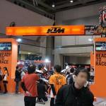 東京モーターサイクルショー 2013 KTM ブース