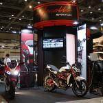 東京モーターサイクルショー 2013 メガリ ブース
