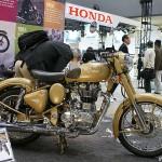 東京モーターサイクルショー 2013 ロイヤルエンフィールド Classic Military 500 Efi