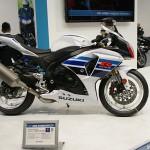 東京モーターサイクルショー 2013 Suzuki GSX-R1000 100万台記念モデル