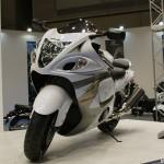 東京モーターサイクルショー 2013 Suzuki GSX1300R 隼 ABSモデル