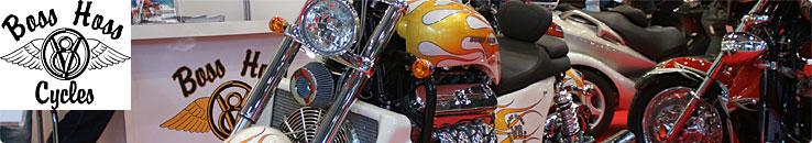 東京モーターサイクルショー 2013 Boss Hoss ブース