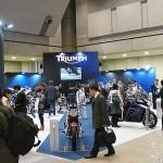 東京モーターサイクルショー 2013 トライアンフ ブース
