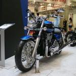 東京モーターサイクルショー 2013 トライアンフ サンダーバード