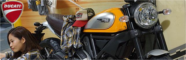 第42回 東京モーターサイクルショー Ducati ブース