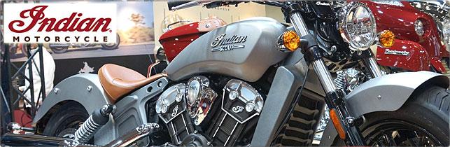 第42回 東京モーターサイクルショー インディアンモーターサイクル ブース