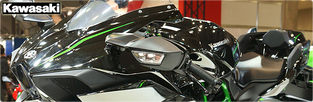 第42回 東京モーターサイクルショー カワサキ ブース