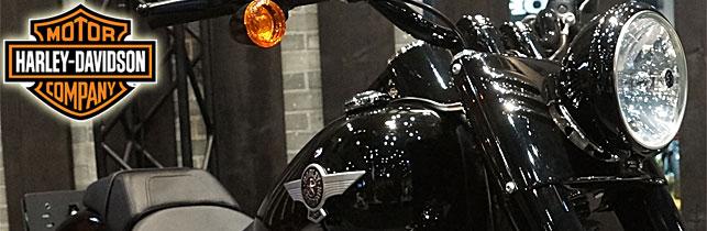 第43回 東京モーターサイクルショー ハーレーダビットソン ブース