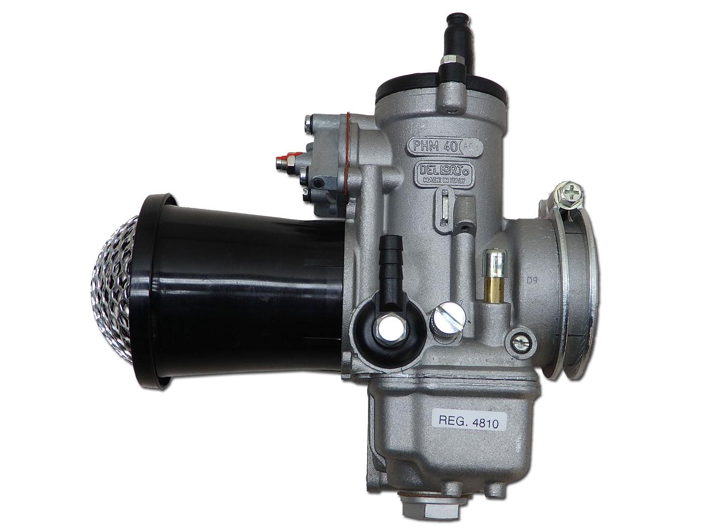デロルト (Dellorto) PHM 40mm AD1 キャブレター 新品
