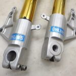 Moto Guzzi V11 Scura Ohlins フロントフォーク 左右セット 送料無料