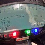 Ducati 1098S メーターパネル