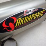BMW F800S AKRAPOVIC サイレンサー 送料無料