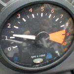 BMW F800S メーターパネル