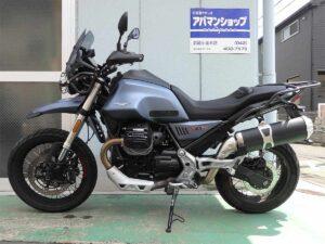 モト・グッツィ V85 TT 側面
