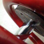 BMW R100GS ホワイトパワー リアサスペンション