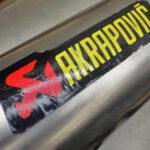 ホンダ CBR954RR レース仕様車 アクラボヴィッチ フルエキゾーストマフラー