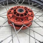 モトグッチ V7 Racer スポーク フロントホイール 送料無料