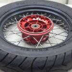 モトグッチ V7レーサー スポーク リアホイール 送料無料
